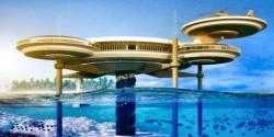 Presentan en dubai el water discus hotel el m s profundo for Hotel bajo el mar dubai