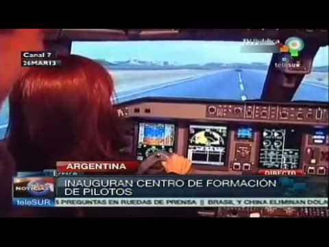 Cristina Fernández deja inaugurado nuevo centro de formación en Ezeiza