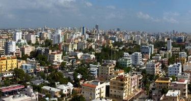 Vista de la Ciudad de Santo Domingo desde el Banco Central hoy, miécoles 30 de diciembre  de 2009.Santo Domingo, Republica DominicanaFoto : © Roberto Guzman