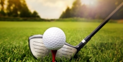 Golf club and ball in grass; Shutterstock ID 158881226; PO: 100 47953; Job: Shutterstock; Other: Public Affairs