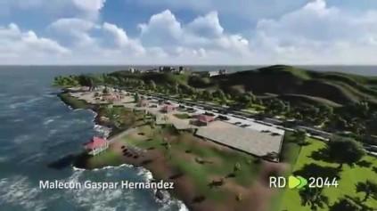 La futurista 'Plaza malecón' que se contempla construir en Gaspar Hernández