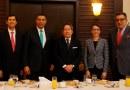 Foto 1 - Autoridades del gobierno de Jamaica y empresarios dominicanos