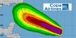 Copa suspende vuelos por Irma