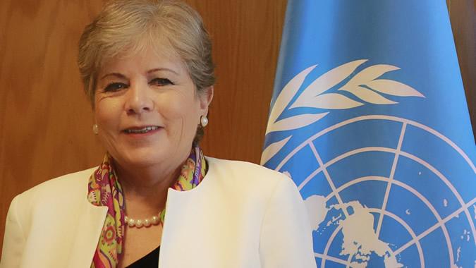 Alicia Bárcena secretaria ejecutiva de la Cepa